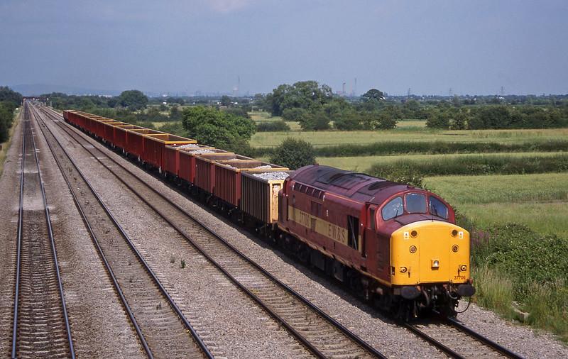37706, Llanwern-Cardiff Tidal, St Mellons,near Cardiff, 7-7-99.
