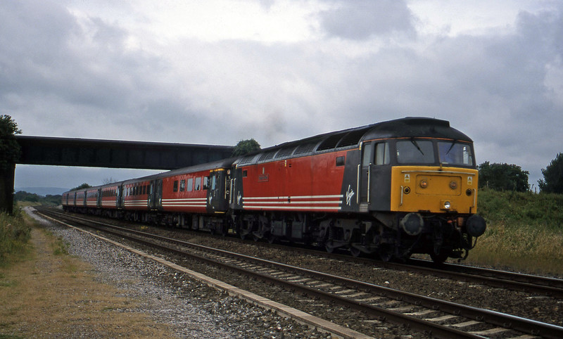 47845, 08.48 Penzance-Manchester Piccadilly, Cogload, 1-7-99.
