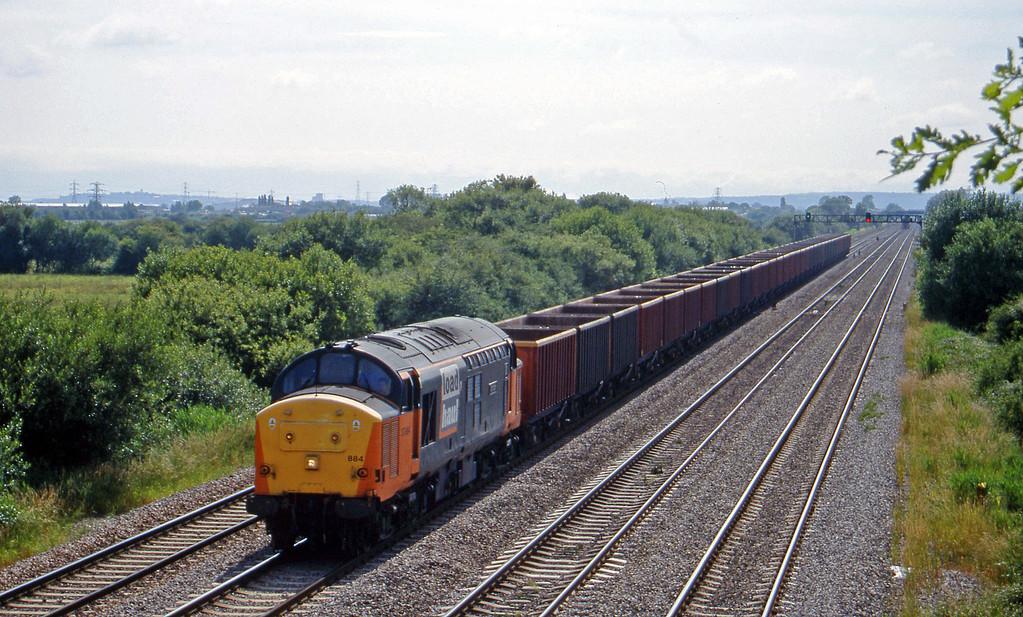 37884, Cardiff Tidal-Llanwern, St Mellons,near Cardiff, 7-7-99.