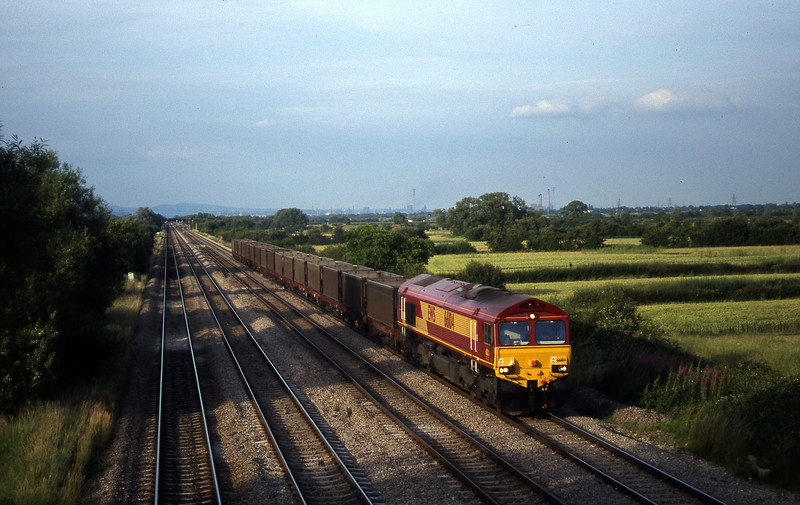 66104, down empties, St Mellons,near Cardiff, 7-7-99.