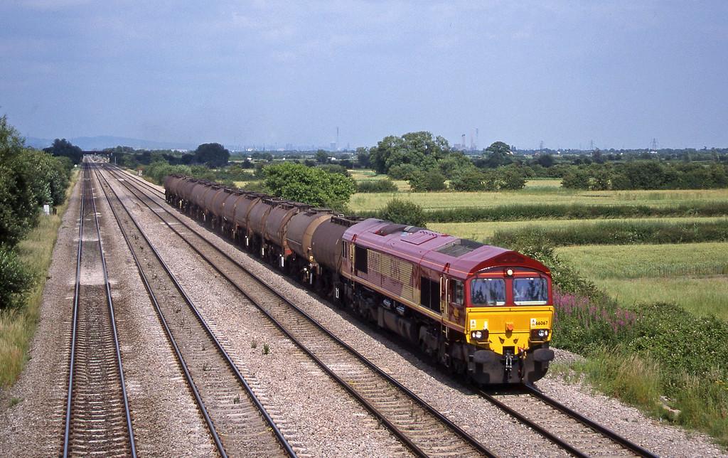 66067, 07.30 Hull-Baglan Bay, St Mellons,near Cardiff, 7-7-99.