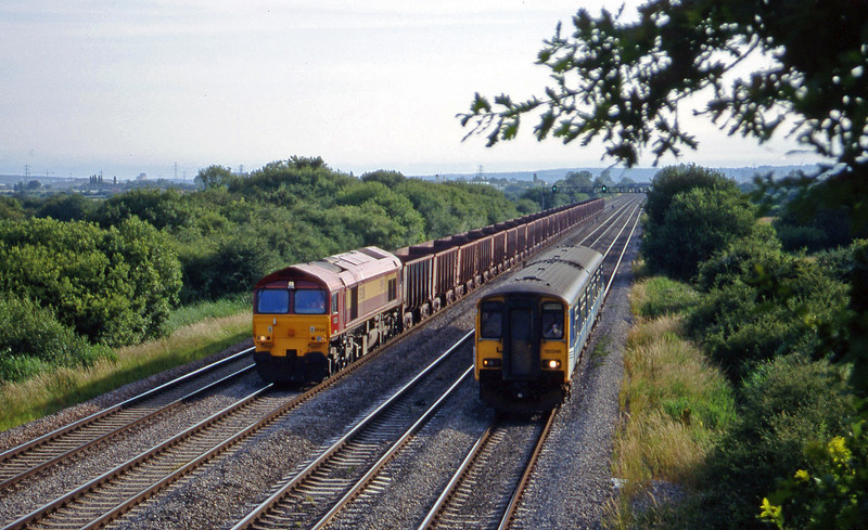 59201, Port Talbot-Llanwern, 150246, up, St Mellons,near Cardiff, 7-7-99.