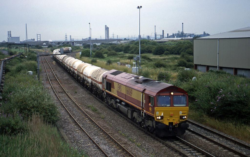 66069, 13.20 Furzebrook-Hallen Marsh, Hallen Marsh Junction, Avonmouth, 2-7-99.