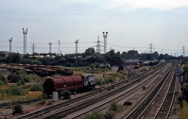 09102, Newport,Docks trip, Newport Alexandra Dock Junction, 7-7-99.