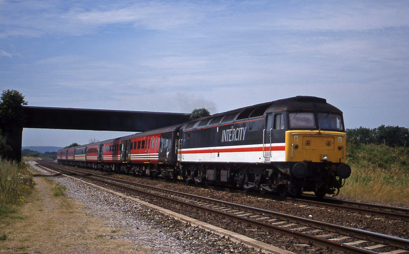 47826, 08.48 Penzance-Manchester Piccadilly, Cogload, 13-7-99.
