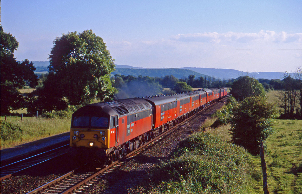 47780, 17.23 Plymouth-Low Fell, Cogload, 9-6-99.