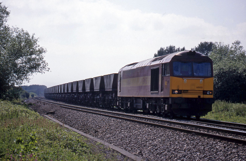 60051, Avonmouth Bulk Handling Terminal-Didcot Power Station, Shrivenham, near Swindon, 15-6-99.
