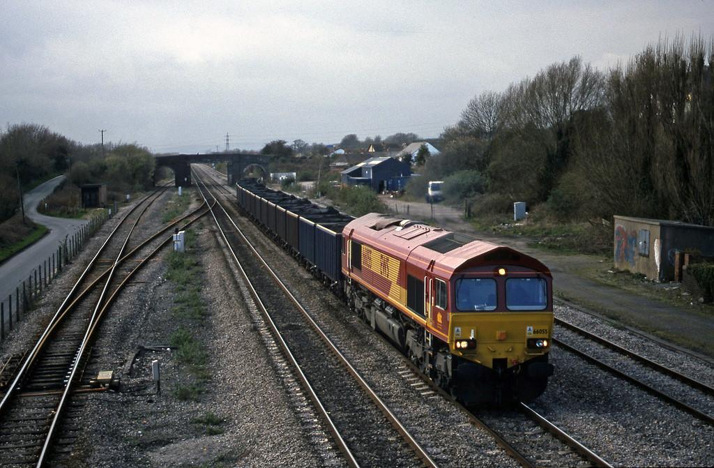 66055, 14.27 Newport Alexandra Dock Junction-Rugby, Magor, 23-3-99.