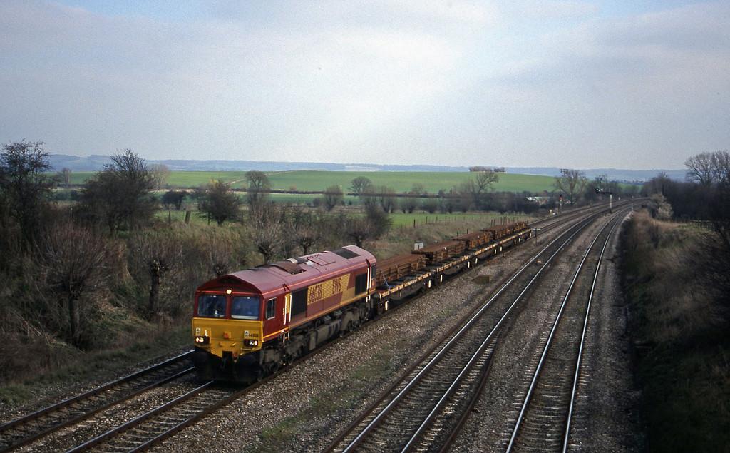 66038, down departmental, South Moreton, near Didcot, 16-3-99.