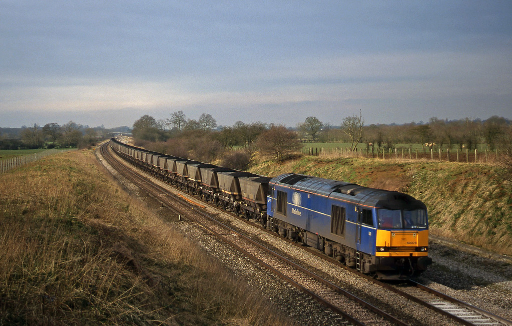 60078, Avonmouth Bulk Handling Terminal-Didcot Power Station, Compton Beauchamp, near Swindon,  16-3-99.