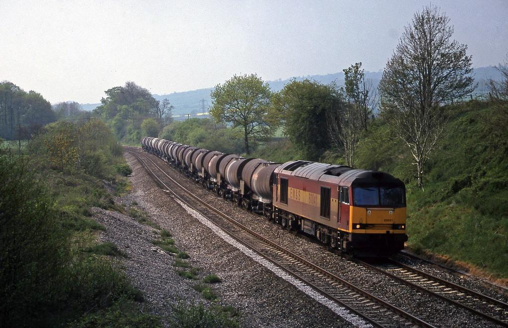 60041, 09.40 Burngullow-Newport Alexandra Dock Junction, Whiteball, 3-5-99.