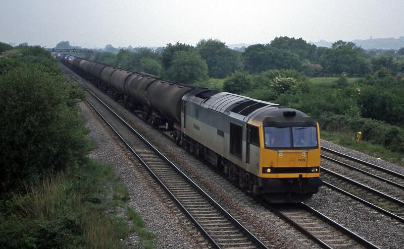 60009, 05.40 Robeston-Westerleigh, St Mellons, near Cardiff, 19-5-99.