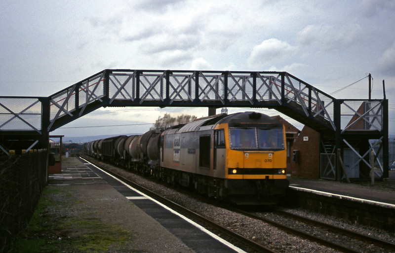 60070, 14.17 Newport Alexandra Dock Junction-St Blazey, Pilning, 4-11-99.