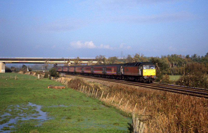 47817, 06.36 Wolverhampton-Plymouth, Exminster, near Exeter, 9-11-99.