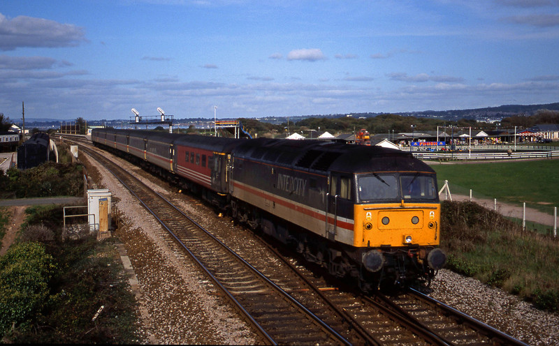 47851, 09.13 Liverpool Lime Street-Plymouth, Dawlish Warren, 11-10-99.