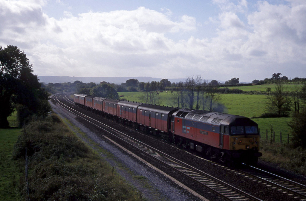 47772, 12.44 Plymouth-Glasgow, Cogload, 29-9-99.