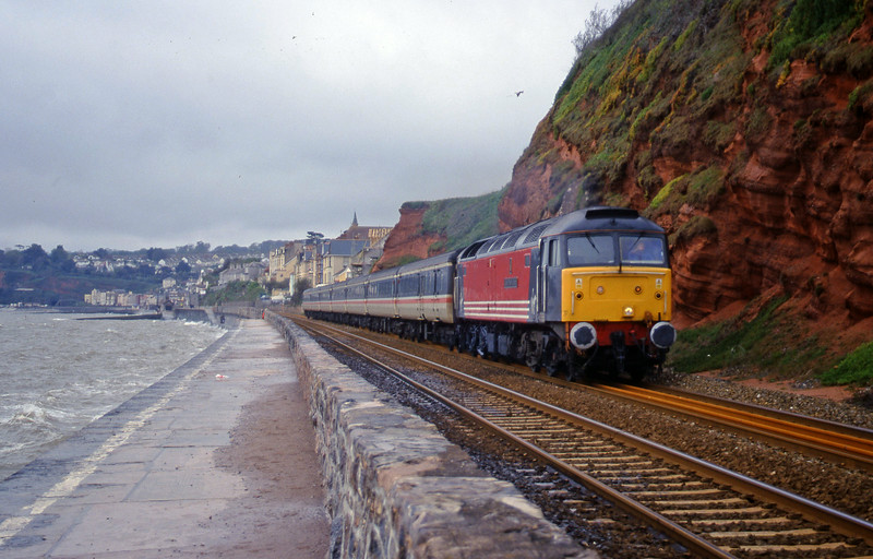 47818, 11.50 Plymouth-Liverpool Lime Street, Dawlish, 26-4-00.
