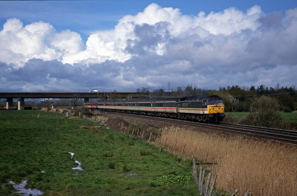 47843, 09.13 Liverpool Lime Street-Plymouth, Exminster, near Exeter, 11-4-00.