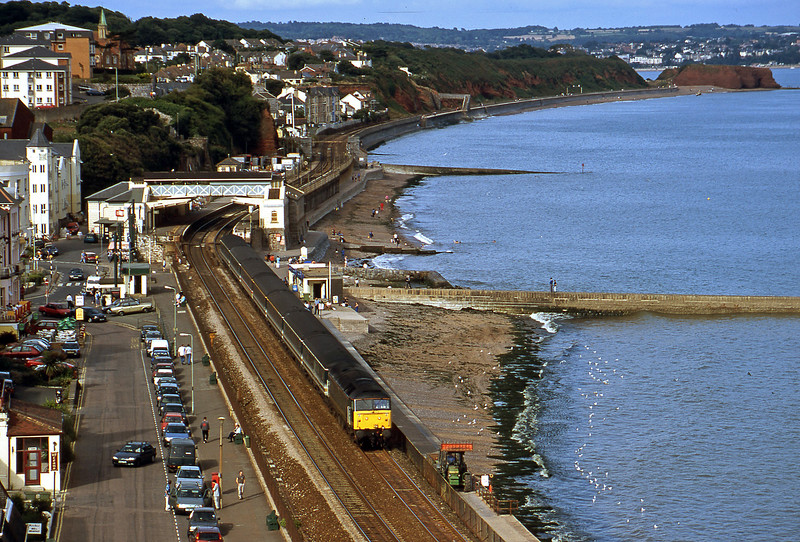 47832, 14.03 London Paddington-Plymouth, Dawlish, 29-8-00.