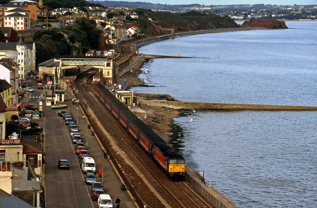 47806, 08.40Glasgow-Penzance, Dawlish, 29-8-00.