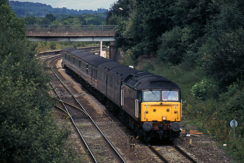 47830, 12.03 London Paddington-Penzance, Willand, near Tiverton, 29-8-00.