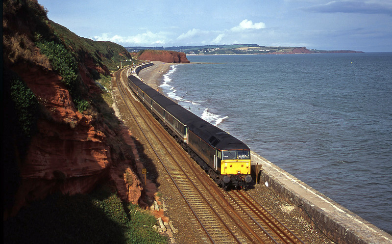 47811, 14.03 London Paddington-Plymouth, Dawlish, 16-8-00.