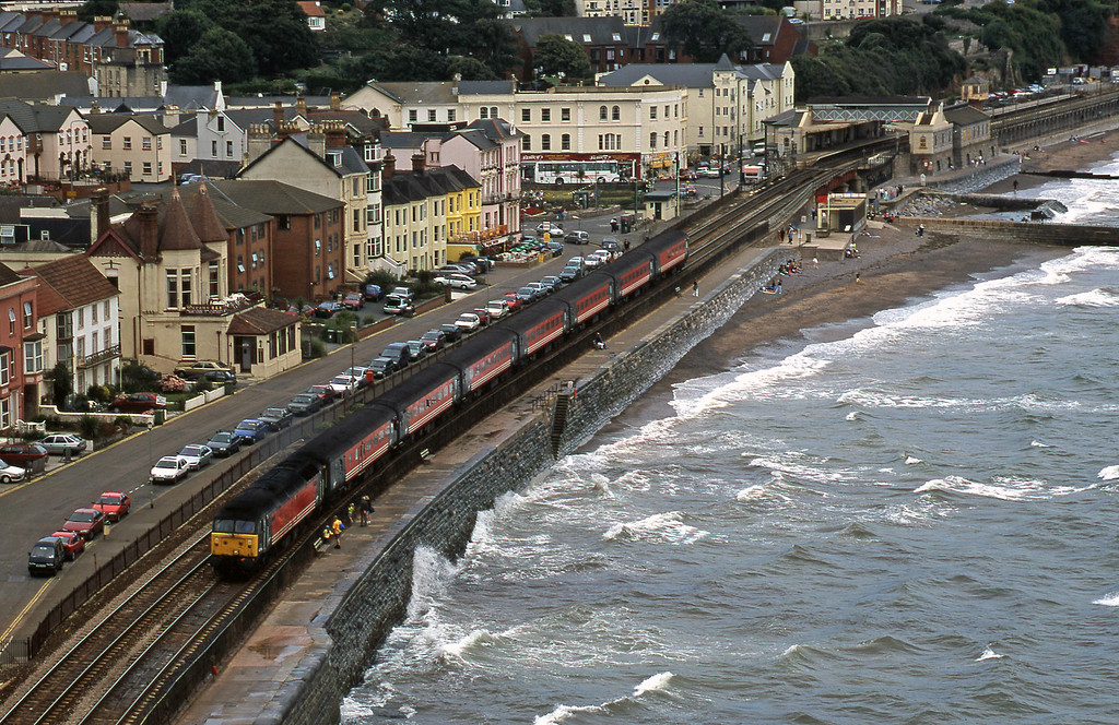 47/8, 08.40 Glasgow-Penzance, Dawlish, 22-8-00.