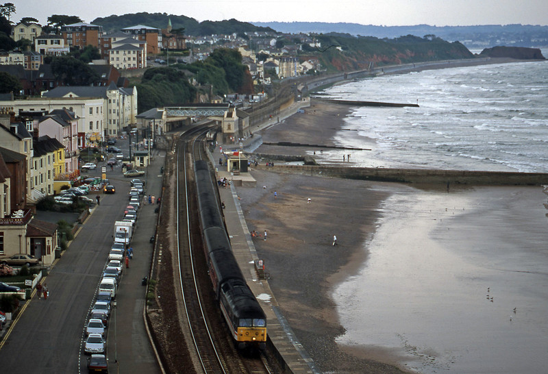 47831, 08.40 Glasgow-Penzance, Dawlish, 23-8-00.