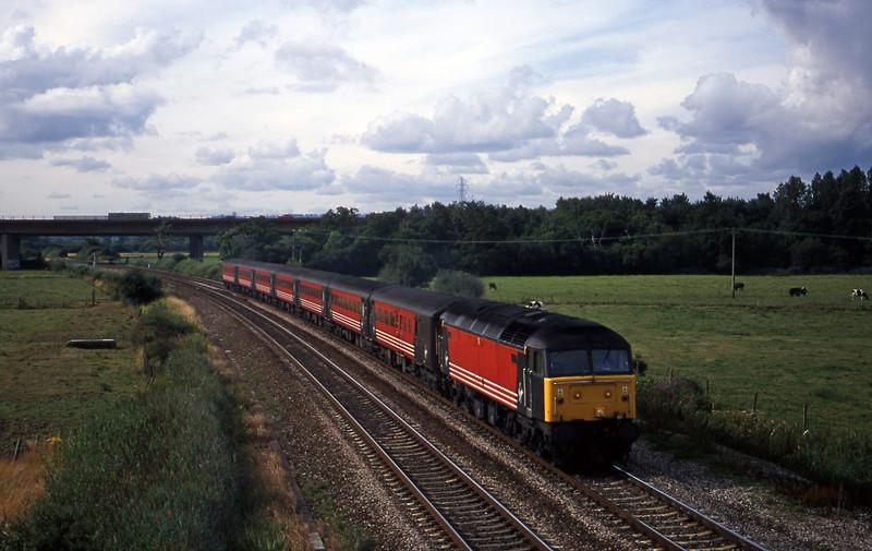 47844, 08.40 Glasgow-Penzance, Exminster, near Exeter, 8-8-00.