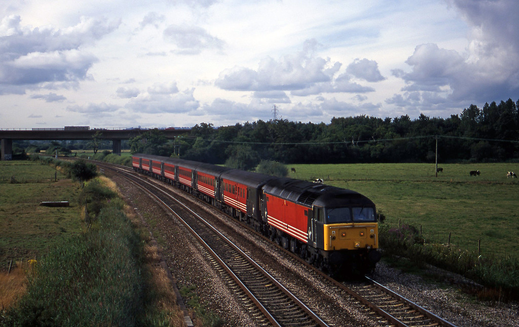 47844, 08.40 Glasgow-Penzance, Exminster, near Exeter, 8-8-00.