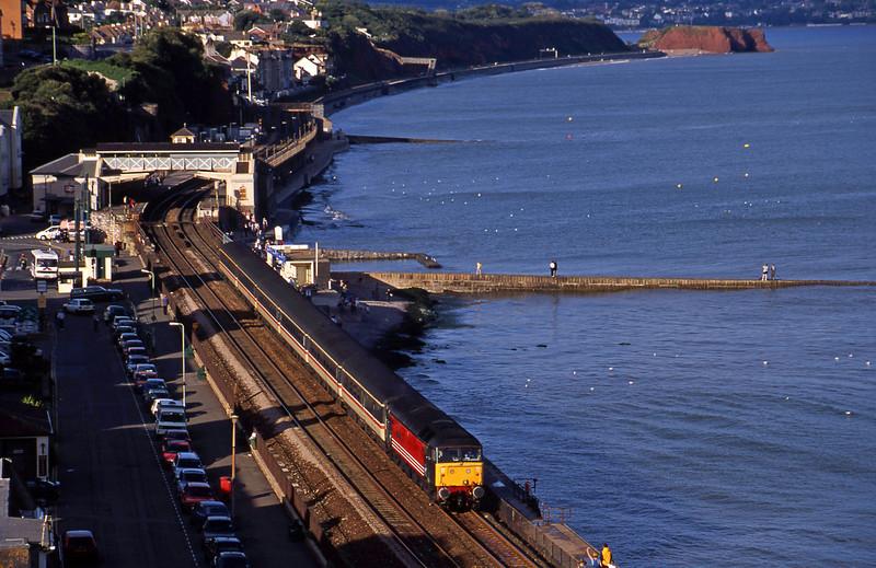 47840, 10.30 Glasgow-Penzance, Dawlish, 27-8-00.