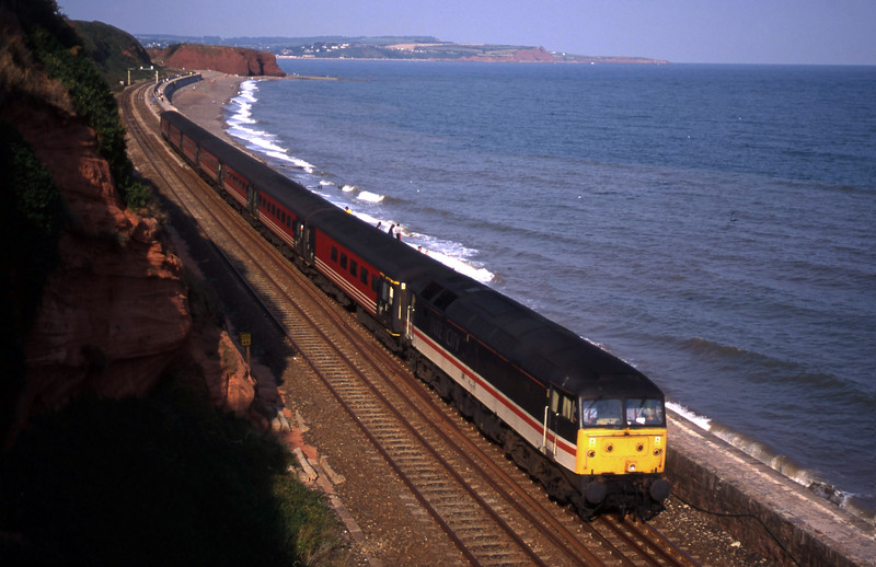 47805, 08.40 Glasgow-Penzance, Dawlish, 30-8-00.
