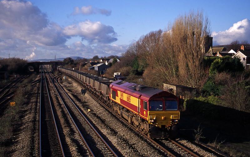 66185, Aberthaw Power Station-Avonmouth Bulk Handling Terminal, Magor, 14-12-00.