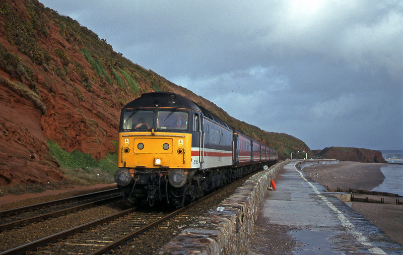 47851, 09.13 Liverpool Lime Street-Plymouth, Dawlish, 7-2-00.