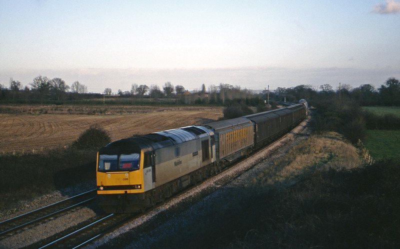 60099, 08.57 Cliffe Vale-St Blazey, Creech St Michael, near Taunton, 2-2-00.