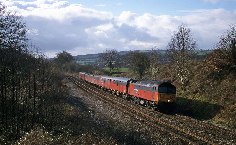 47783, 12.44 Plymouth-Glasgow, Whiteball, 11-2-00.