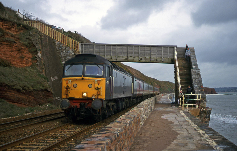 47712, 09.13 Liverpool Lime Street-Plymouth, Dawlish, 29-2-00.