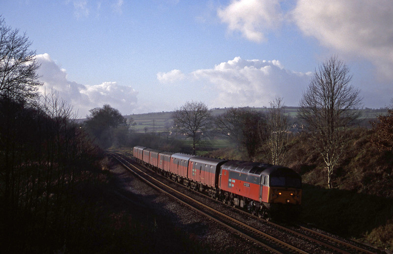 47793, 12.44 Plymouth-Glasgow, Whiteball, 6-1-00.