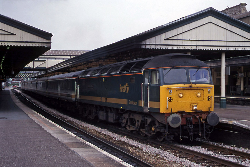 47813, 14.03 London Paddington-Plymouth, Exeter St David's, 6-7-00.