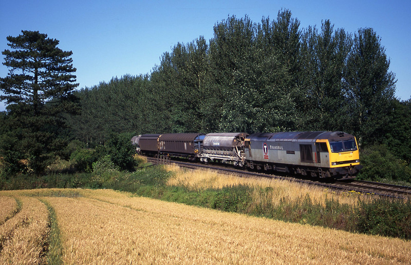 60035, 08.57 Cliffe Vale-St Blazey, Beambridge, near Wellington, 18-7-00.