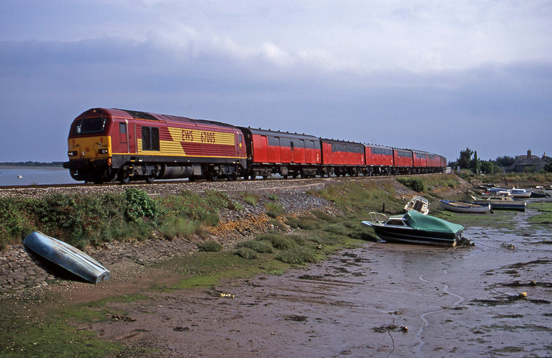 67005, 15.09 Plymouth-Low Fell, Cockwood Harbour, near Starcross, 7-7-00.