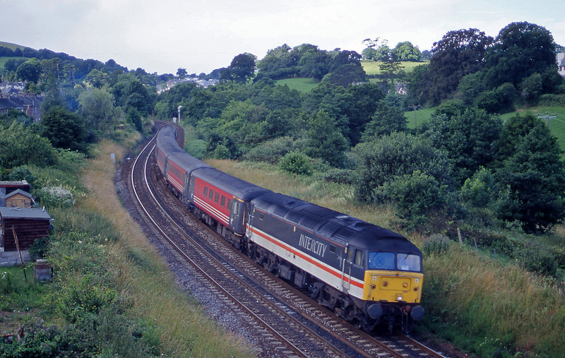 47805, 11.50 Plymouth-Liverpool Lime Street, Totnes, 11-7-00.