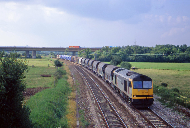 60035, 08.57 Cliffe Vale-St Blazey, Exminster, near Exeter, 7-7-00.