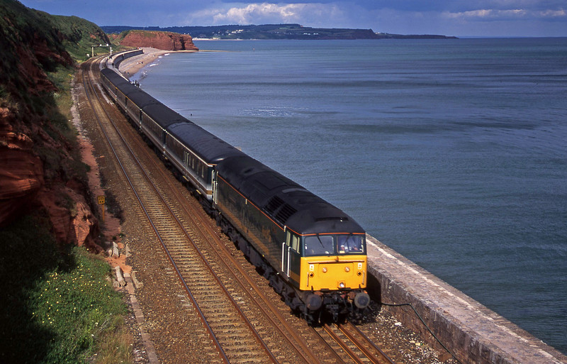47816, 14.03 London Paddington-Plymouth, Dawlish, 11-7-00.