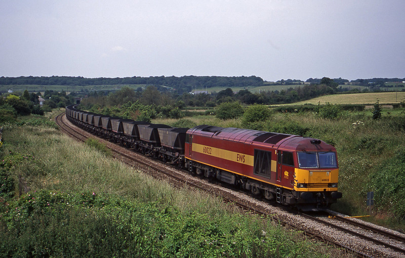 60022, up mgr, Brentry, Bristol, 27-6-00.