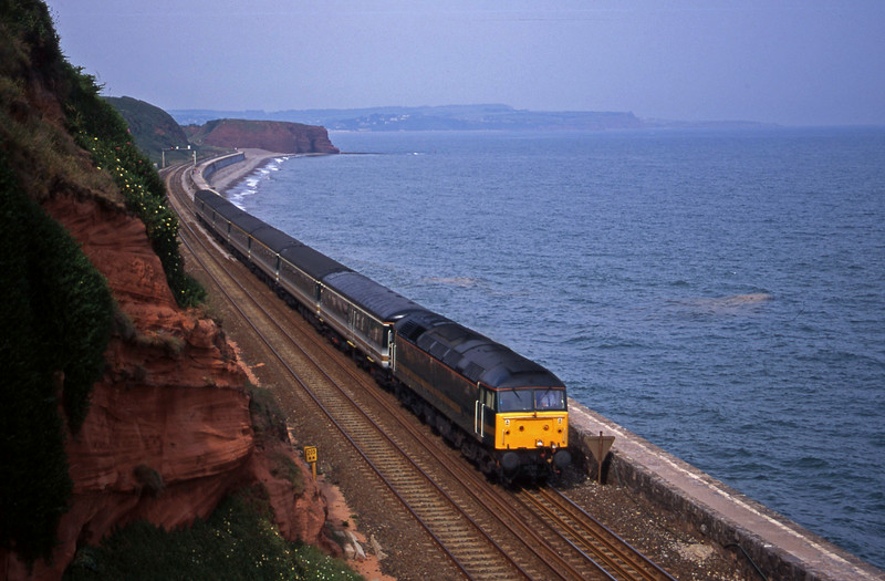 47832, 14.03 London Paddington-Plymouth, Dawlish, 28-6-00.