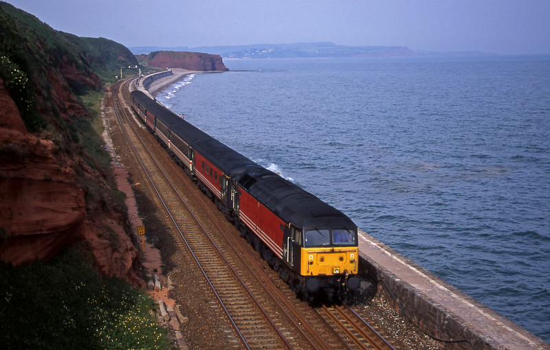 47844, 08.40 Glasgow-Plymouth, Dawlish, 28-6-00.