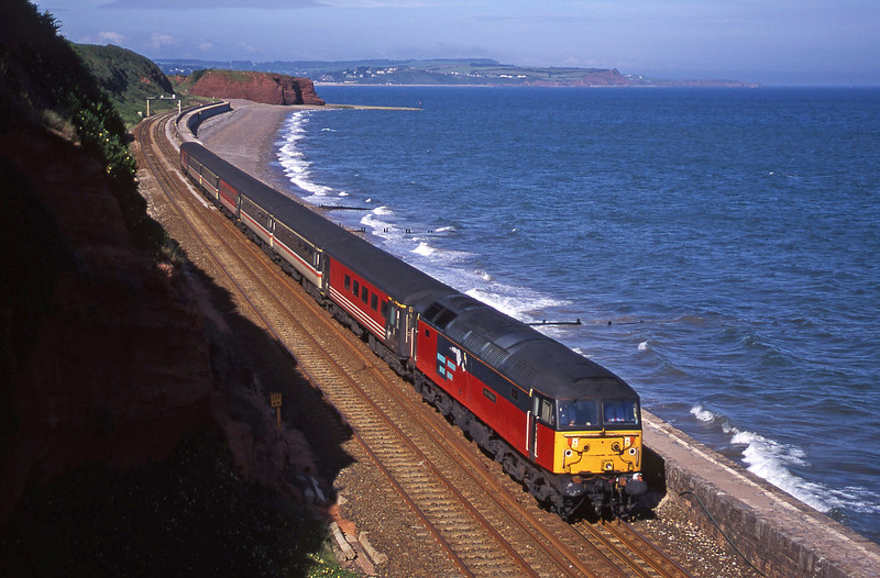 47747, 08.40 Glasgow-Penzance, Dawlish, 20-6-00.