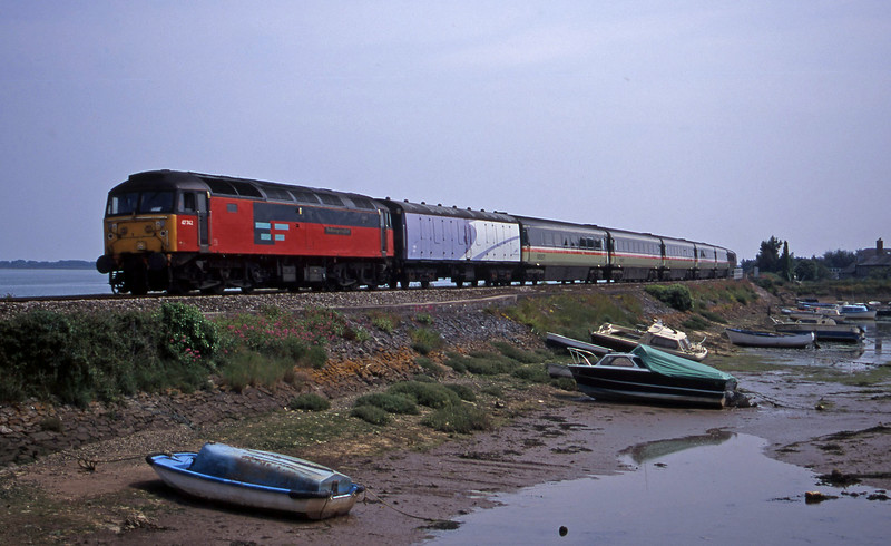 47742, up stock move, Cockwood Harbour, near Starcross, 28-6-00.
