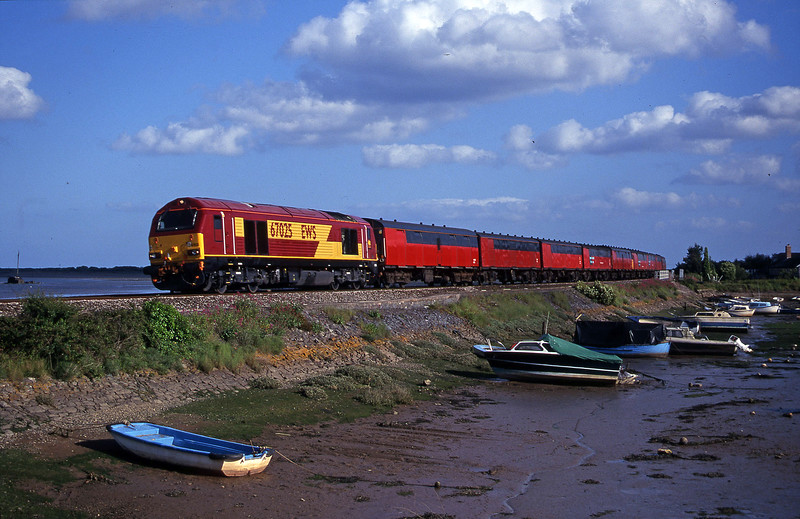 67025, 17.23 Plymouth-Low Fell, Cockwood Harbour, near Starcross, 6-6-00.